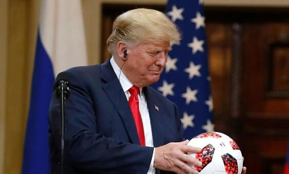 66c0cba2a62e Although benign intent can be posited to Putin in presenting the ball to  Trump